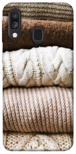 Чехол itsPrint Knitted aesthetics для Samsung Galaxy A40 (A405F)