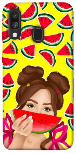 Чехол itsPrint Watermelon girl для Samsung Galaxy A40 (A405F)