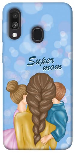 Чехол itsPrint Super mommy для Samsung Galaxy A40 (A405F)