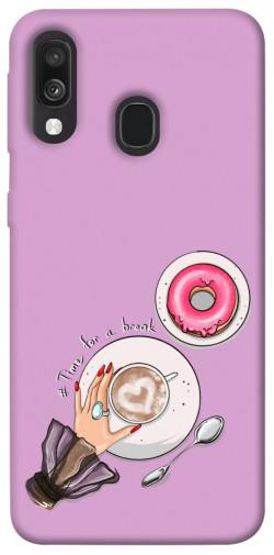Чехол itsPrint Time for a break для Samsung Galaxy A40 (A405F)