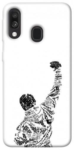 Чехол itsPrint Rocky man для Samsung Galaxy A40 (A405F)
