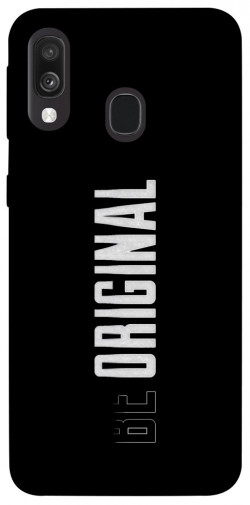 Чехол itsPrint Be original для Samsung Galaxy A40 (A405F)