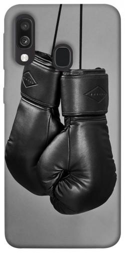 Чехол itsPrint Черные боксерские перчатки для Samsung Galaxy A40 (A405F)