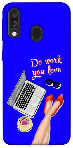 Чехол itsPrint Do work you love для Samsung Galaxy A40 (A405F)