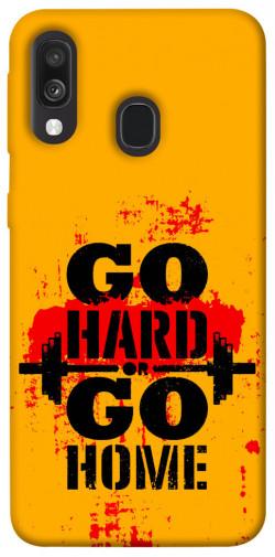 Чехол itsPrint Go hard для Samsung Galaxy A40 (A405F)