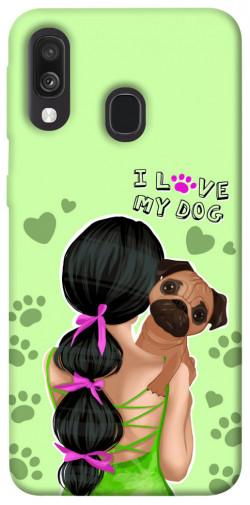 Чехол itsPrint Love my dog для Samsung Galaxy A40 (A405F)