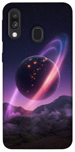 Чехол itsPrint Сатурн для Samsung Galaxy A40 (A405F)