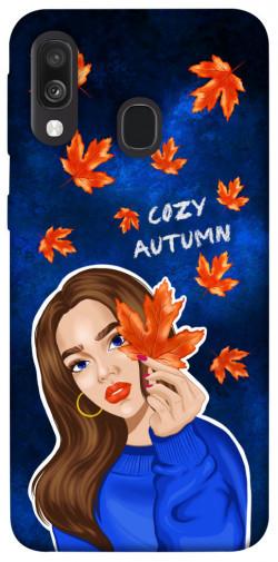 Чехол itsPrint Cozy autumn для Samsung Galaxy A40 (A405F)