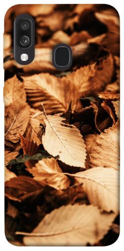Чехол itsPrint Опавшая листва для Samsung Galaxy A40 (A405F)