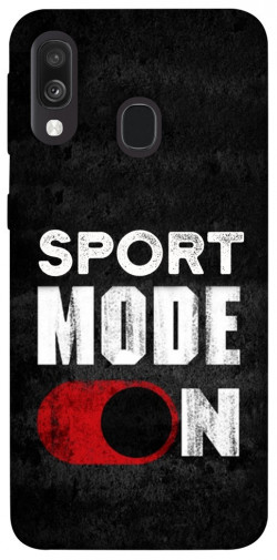 Чехол itsPrint Sport mode on для Samsung Galaxy A40 (A405F)
