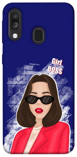 Чехол itsPrint Girl boss для Samsung Galaxy A40 (A405F)