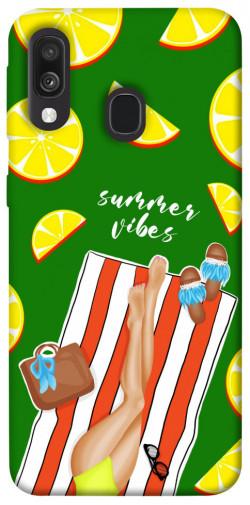 Чехол itsPrint Summer girl для Samsung Galaxy A40 (A405F)