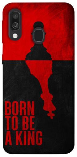 Чехол itsPrint Born to be a king для Samsung Galaxy A40 (A405F)