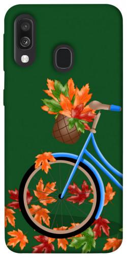 Чехол itsPrint Осенняя прогулка для Samsung Galaxy A40 (A405F)