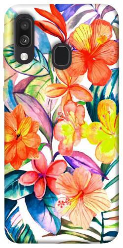 Чехол itsPrint Цветочный коктейль для Samsung Galaxy A40 (A405F)