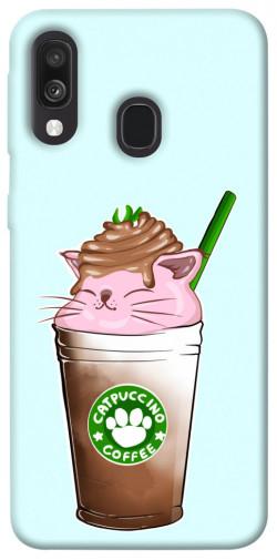 Чехол itsPrint Catpuccino для Samsung Galaxy A40 (A405F)
