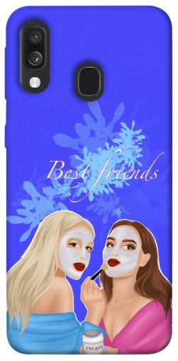Чехол itsPrint Best friends для Samsung Galaxy A40 (A405F)