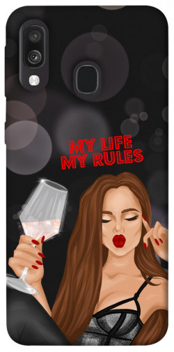 Чехол itsPrint My life my rules для Samsung Galaxy A40 (A405F)