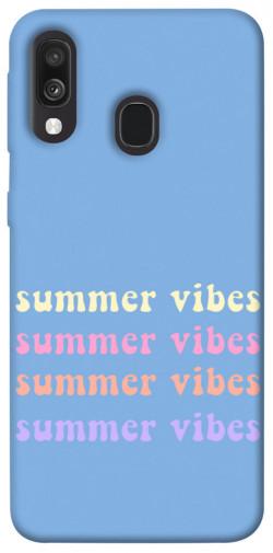 Чехол itsPrint Summer vibes для Samsung Galaxy A40 (A405F)