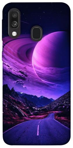 Чехол itsPrint Дорога в небо для Samsung Galaxy A40 (A405F)