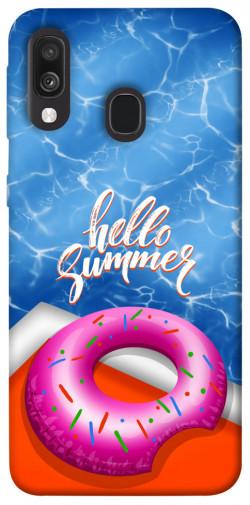 Чехол itsPrint Hello summer для Samsung Galaxy A40 (A405F)