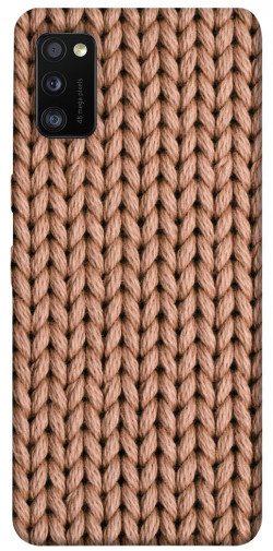 Чехол itsPrint Knitted texture для Samsung Galaxy A41