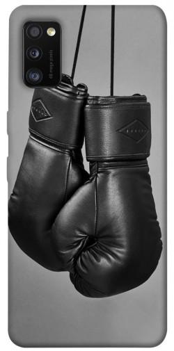 Чехол itsPrint Черные боксерские перчатки для Samsung Galaxy A41