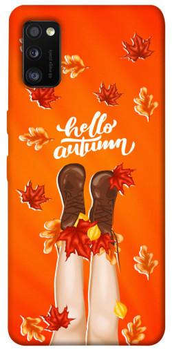 Чехол itsPrint Hello autumn для Samsung Galaxy A41
