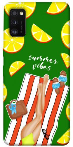Чехол itsPrint Summer girl для Samsung Galaxy A41