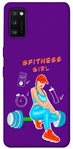 Чехол itsPrint Fitness girl для Samsung Galaxy A41