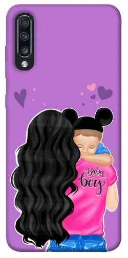Чехол itsPrint Baby boy для Samsung Galaxy A70 (A705F)
