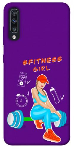 Чехол itsPrint Fitness girl для Samsung Galaxy A70 (A705F)