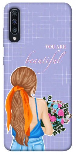 Чехол itsPrint You are beautiful для Samsung Galaxy A70 (A705F)