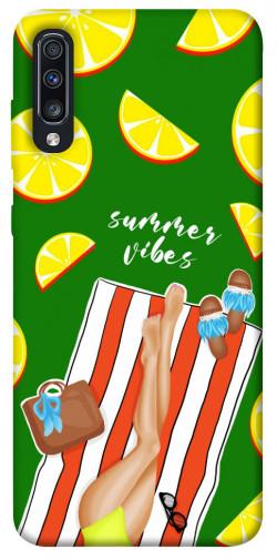Чехол itsPrint Summer girl для Samsung Galaxy A70 (A705F)