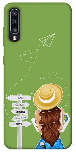 Чехол itsPrint Travel girl для Samsung Galaxy A70 (A705F)