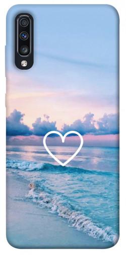 Чехол itsPrint Summer heart для Samsung Galaxy A70 (A705F)