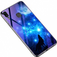TPU+Glass чехол Fantasy с глянцевыми торцами для Samsung Galaxy M20