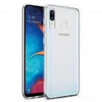 TPU чехол Epic Transparent 2,00 mm для Samsung Galaxy A20 / A30