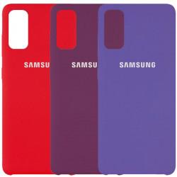 Чехол Silicone Cover (AAA) для Samsung Galaxy S20