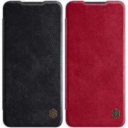 Кожаный чехол (книжка) Nillkin Qin Series для Samsung Galaxy A12