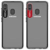 TPU чехол Epic clear flash для Samsung Galaxy A20 / A30
