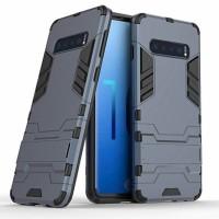 Ударопрочный чехол-подставка Transformer для Samsung Galaxy S10+ с мощной защитой корпуса