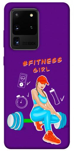 Чехол itsPrint Fitness girl для Samsung Galaxy S20 Ultra