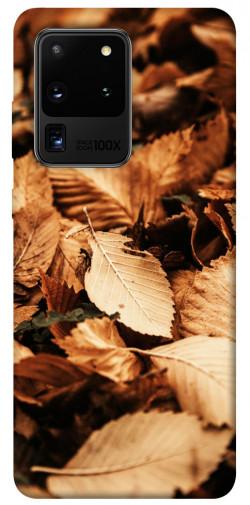 Чехол itsPrint Опавшая листва для Samsung Galaxy S20 Ultra