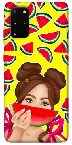 Чехол itsPrint Watermelon girl для Samsung Galaxy S20+
