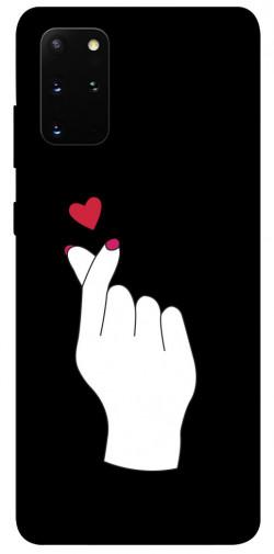 Чехол iPrint Сердце в руке для Samsung Galaxy S20+