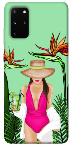 Чехол itsPrint Tropical girl для Samsung Galaxy S20+