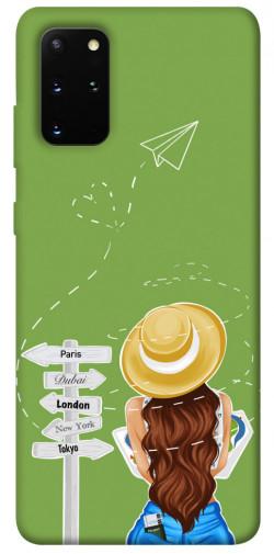 Чехол itsPrint Travel girl для Samsung Galaxy S20+