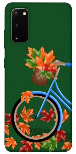 Чехол itsPrint Осенняя прогулка для Samsung Galaxy S20