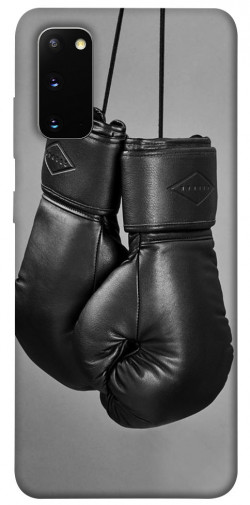 Чехол itsPrint Черные боксерские перчатки для Samsung Galaxy S20
